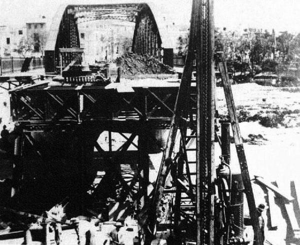 Puente Nuevo de Hierro Murcia
